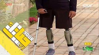 #حياتك11   ماجد العتيبي يحكي قصته المؤلمة في حادث سير + تأثر الشباب بالموقف