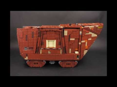Vidéo LEGO Star Wars 75059 : Sandcrawler