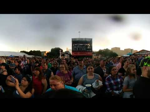 Colton Dixon Loud And Clear 360 Video Texas State Fair 10-22-16