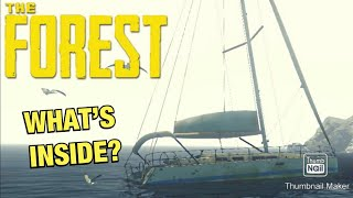 What's Inside The Yacht Door? The Forest