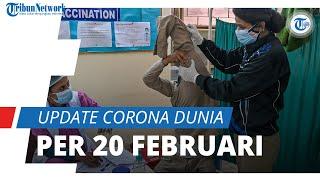 Update Corona Dunia 20 Februari 2021: Total 111,2 Juta Terinfeksi, India Posisi Dua dengan 10,9 Juta