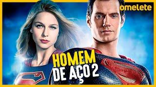 SUPERMAN HENRY CAVILL DE VOLTA COM SUPERGIRL - HOMEM DE AÇO 2 VAI ROLAR?