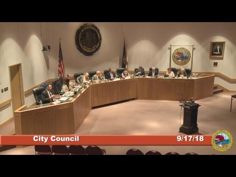 City Council 9.17.18