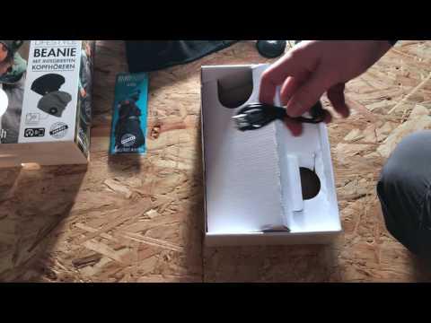 Unboxing Bluetooth Kopfhörer Mütze / Earebel [HD]