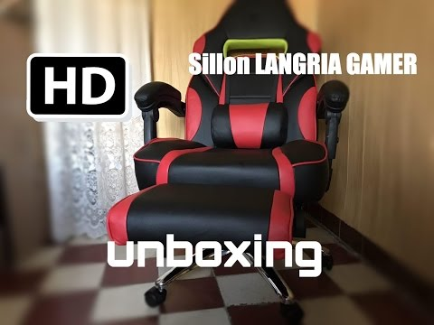 Unboxing Montaje Mi Sillon LANGRIA Gamer
