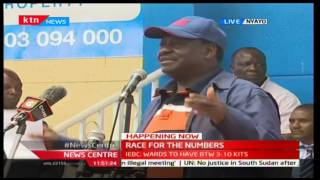 Raila Odinga names the strategies they will use to win the general elections