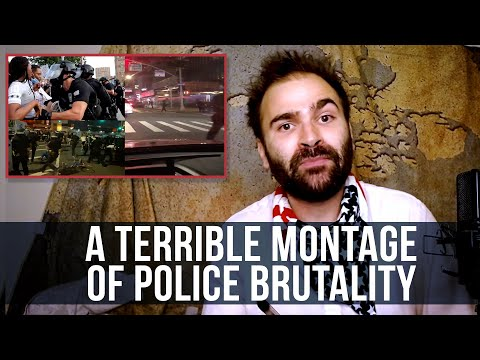 A Terrible Montage of Police Brutality