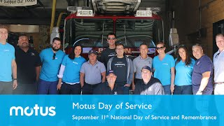 Motus Day of Service - 2016 September 11th National Day of Service and Remembrance