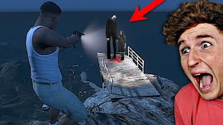 SLENDER MAN DID THIS In GTA 5.. (TERRIFYING)