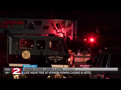 Crews respond to fire at Vernon Downs Casino & Hotel