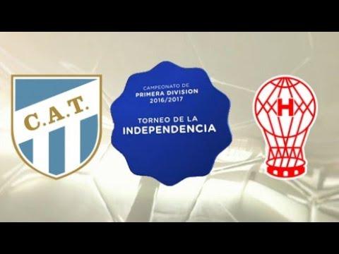 """""""Espectacular recibimiento a atletico tucuman vs huracan"""" Barra: La Inimitable • Club: Atlético Tucumán"""