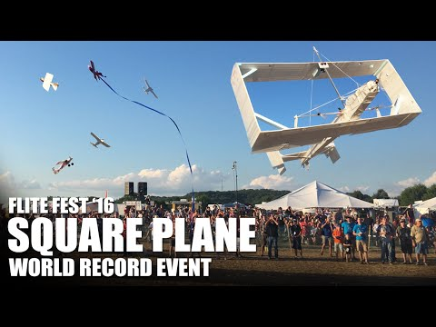 world-record-event-giant-square-plane--flite-fest-2016--part-2