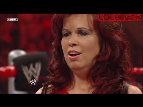Vickie Guerrero Resigns as Raw GM + Edge Requests a Divorce 6 8 2009 Raw
