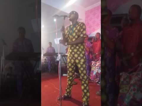 Alayo Melody Singer on Stage @ OPIC HALL, Lagos