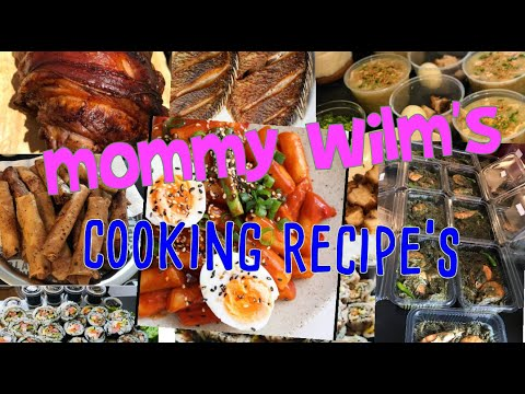 Mommy Wilm's cooking recipe's trailer
