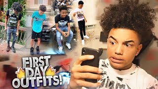 RATING MY SUBSCRIBERS FIRST DAY OF SCHOOL OUTFITS PT. 3! 🔥