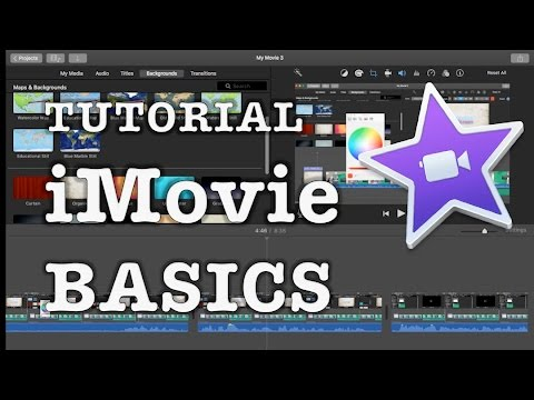 iMovie Basics (2017): Video editing tutorial for beginners