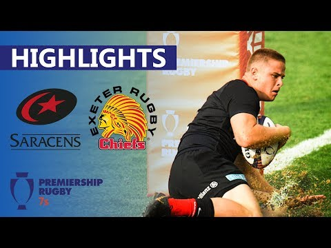 Saracens 31-0 Exeter | Chiefs Nullified In Dominant Display | Premiership 7's Semi-Final Highlights