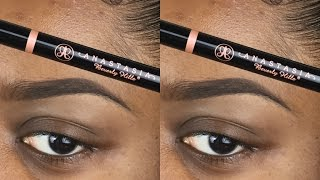 BROW Routine x Anastasia Beverly Hills Brow Definer and Benefit Browvo! Conditioning Primer