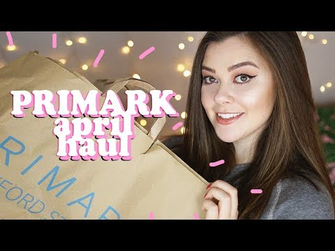 PRIMARK HAUL - APRIL 2018 (CLOTHING + HOMEWARE) | LUCY WOOD