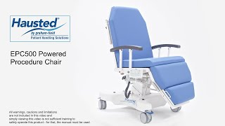 Hausted EPC500 Procedure Chair Youtube Video Link