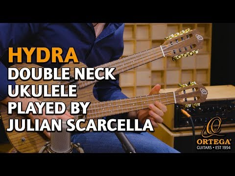 ORTEGA GUITARS | HYDRA DOUBLE NECK UKULELE | PLAYED BY JULIAN SCARCELLA | OFFICIAL PRODUCT VIDEO