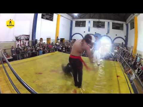 Bestia 666 vs Último Ninja, NGX en GYM Factores Mutuos de Monterrey