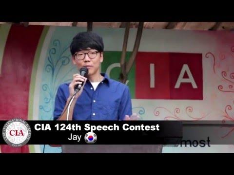 (English School in Cebu, Philippines ) Cebu International Academy- 124th Speech Contest (Jay)