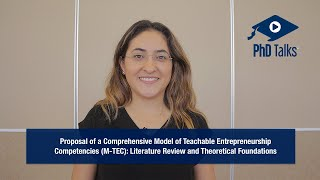 Proposal of a Comprehensive Model of Teachable Entrepreneurship Competencies (M-TEC): Literature Review and Theoretical Foundations