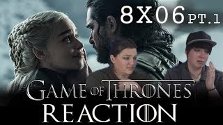 Game of Thrones 8X06 PT.1 THE IRON THRONE reaction