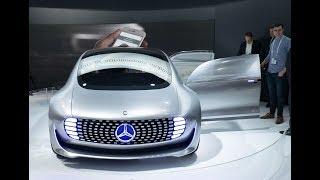 Mercedes запустит сервис самоуправляемых такси