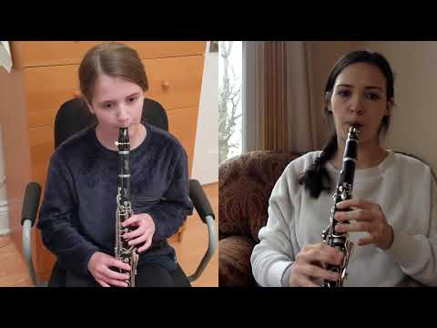 Wherever we are in the world we can still make music together online. I am so proud of this student who is so young and works so hard.