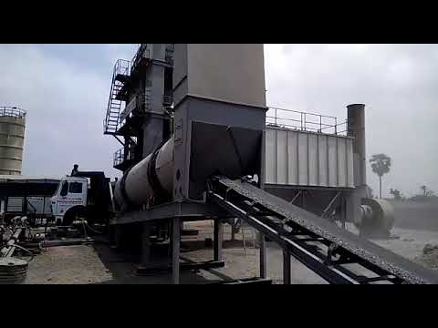 Road Construction Asphalt Batch Mix Plant