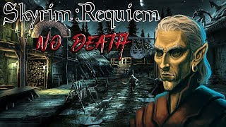 Skyrim - Requiem (без смертей, макс сложность) Альтмер-маг  #26 Легендарный Хризамер