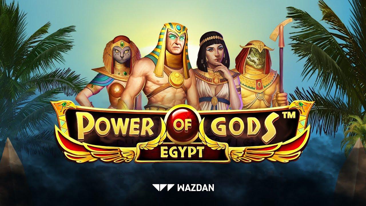 Power of Gods : Egypt by Wazdan