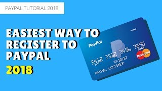How to Register to Paypal 2018 with or without credit card