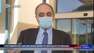 Συρογιαννόπουλος:Δεν έχει ακόμη ανιχνευτεί μετάλλαξη του κορωνοϊου στη Θεσσαλία 25 1 2021