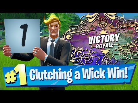 How To Be Invincible (kinda) + Win John Wick's Bounty! - Fortnite Battle Royale
