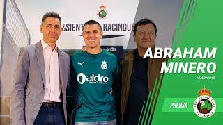 Presentación Abraham Minero · 10 De Julio Del 2019