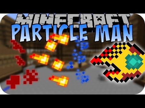 Minecraft PARTICLE MAN MOD (Beherrsche: Feuer, Wasser und Redstone) [Deutsch]