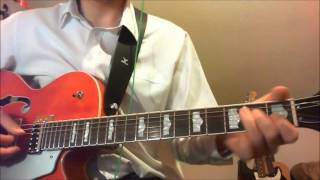 The Beatles - Sure To Fall (In Love With You) Lead Guitar Tutorial & Cover with Tabs