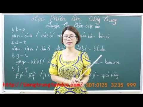 Học phát âm tiếng Trung cơ bản từ đầu 3