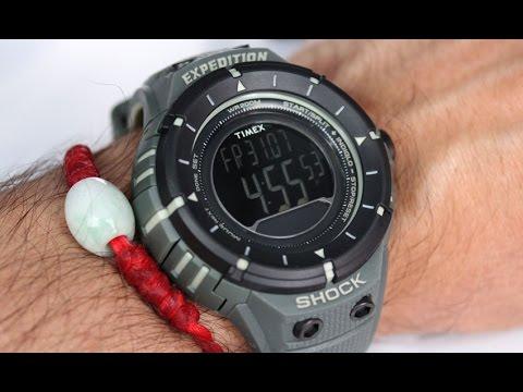 39089e7bc7ac Timex Watch T49612 Expedition Military Series Shock Digital Compass - nav  san