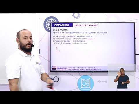 Aula 10 | Número del nombre formación del plural - Parte 03 de 03 - Exercícios - Espanhol