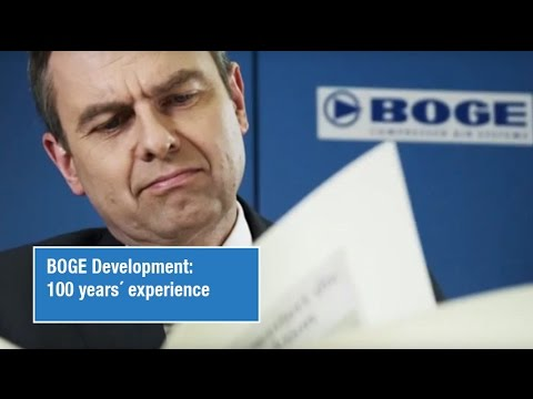 Boge Compressors - 100 years experience