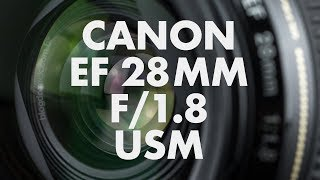 Lens Data - Canon EF 28mm f/1.8 USM Review