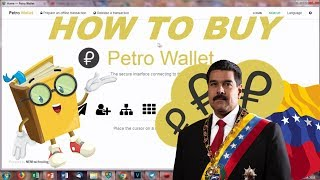 Where to trade petro cryptocurrency