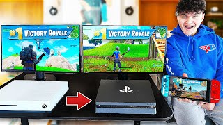 Every time i die i Switch CONSOLE in Fortnite