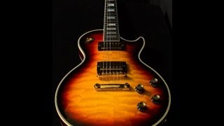 Gibson Custom Shop Chambered 1968 Les Paul Custom •SN: 004308