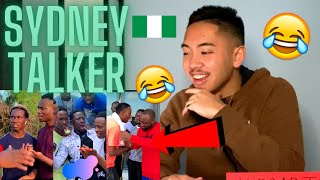 American FIRST REACTION To Sydney Talker Comedy 🇳🇬😂 *HILARIOUS!! 🤣🤣* | NIGERIA 🇳🇬 (Compilation #1)